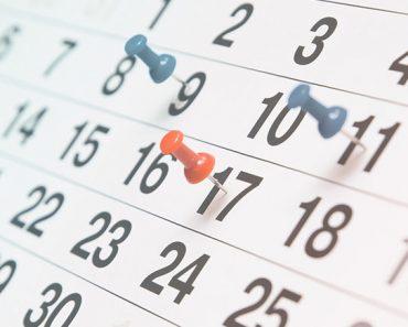 Confira as datas dos feriados nacionais e de pontos facultativos em 2020