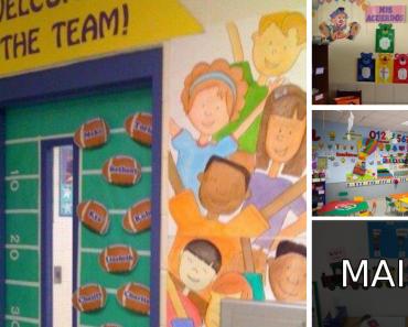Ideias de Decorações de sala de aula para volta as aulas