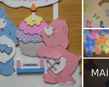 Ideias de decoração dos Ursinhos Carinhosos
