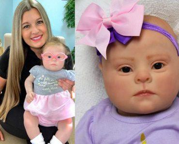 Mulher faz bonecas com Síndrome de Down hiper-realistas