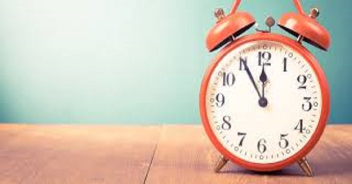 Atividades sobre as horas