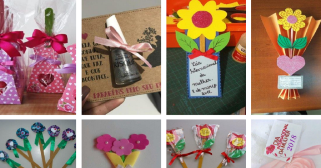 Ideias de Lembrancinhas para Dia da Mulher