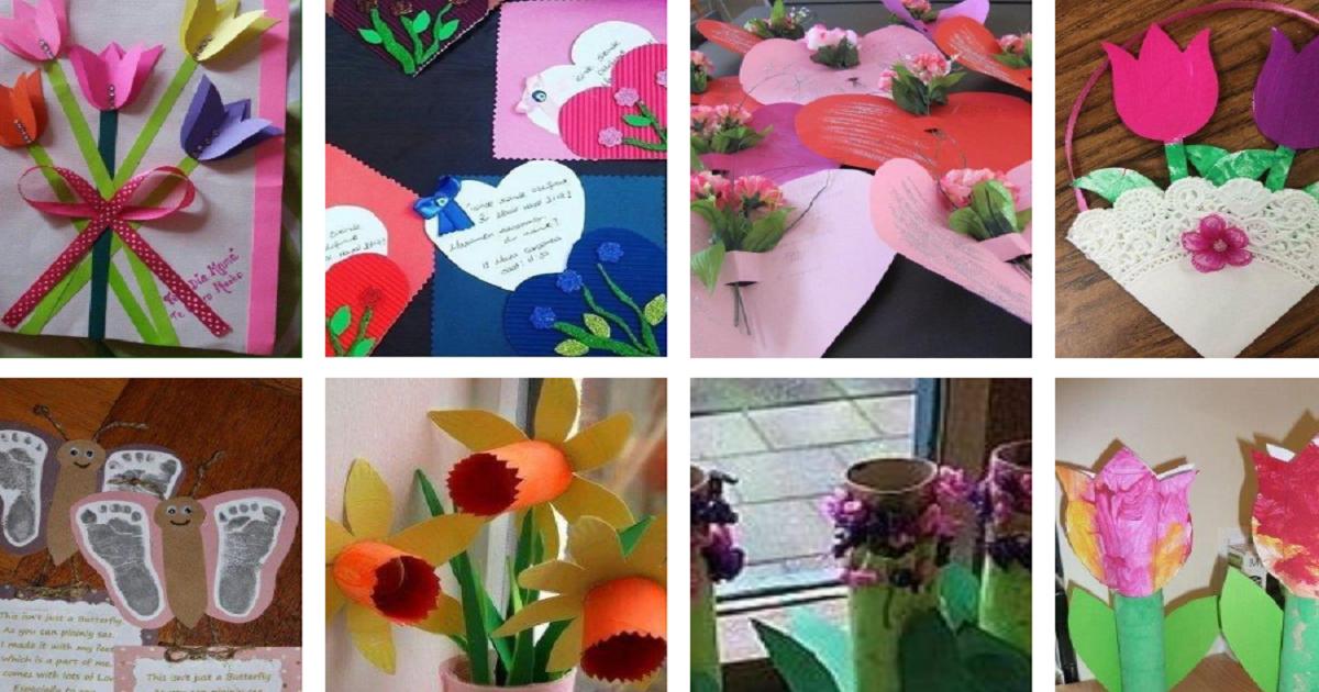 Manualidades para o Dia das Mães