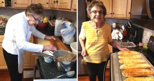 Avó De 97 Anos Iniciou O Seu Canal De Culinária Em Quarentena
