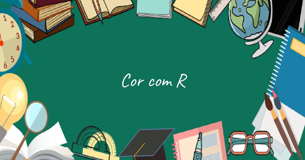 Cor com R