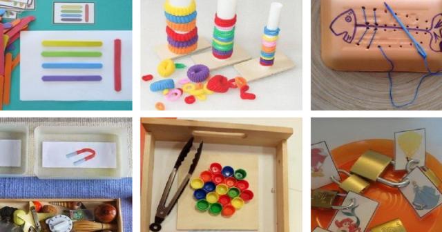 Ideias de Atividades Montessori para escola