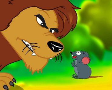 O leão e o rato - Fábula para crianças
