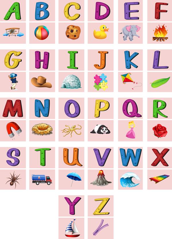 Abecedário ou alfabeto em inglês